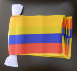 Colombia Bunting, rectangular, 9 metre.